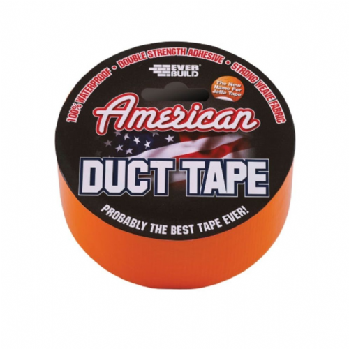 Everbuild USDUCT0G25 American Duct Tape Orange 50mm x 25m